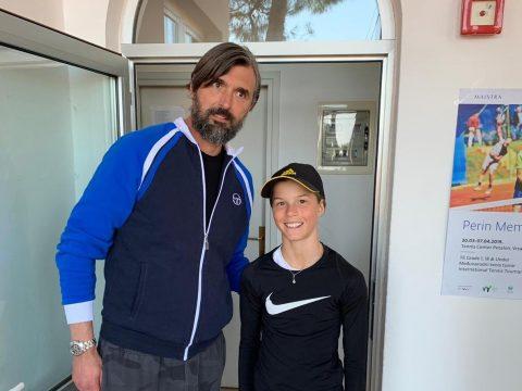 Goran Ivanišević und Lilli Tagger