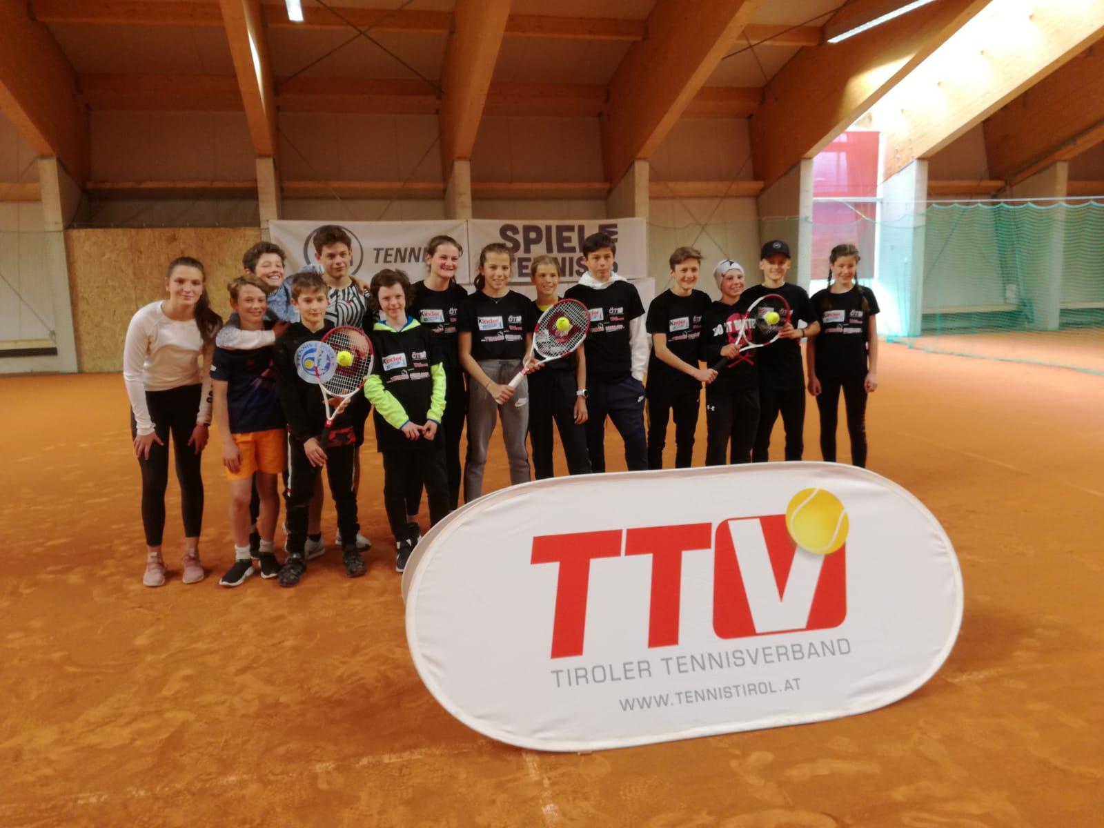 Unterstufen Tennis – Schulcup Tirol 2. und 15. Mai 2019