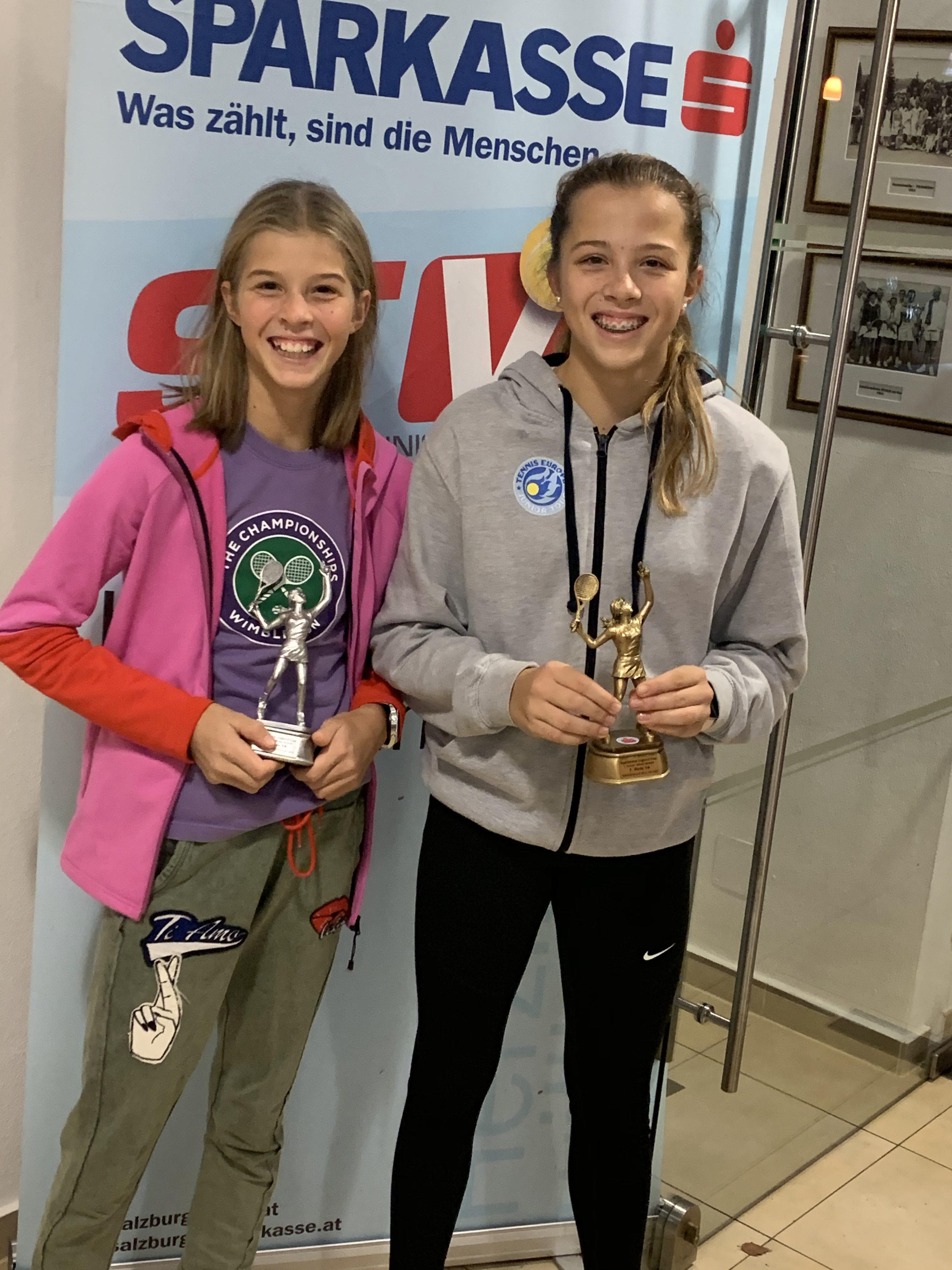 Emma und Lilli beim Kat IV Turnier in Zell am See, 22. -24.11.2019
